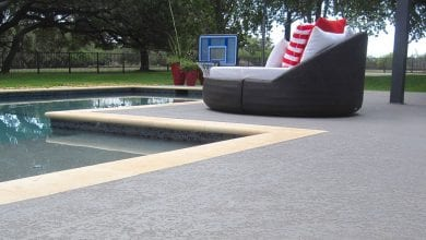 Photo of Pool Deck Paint
